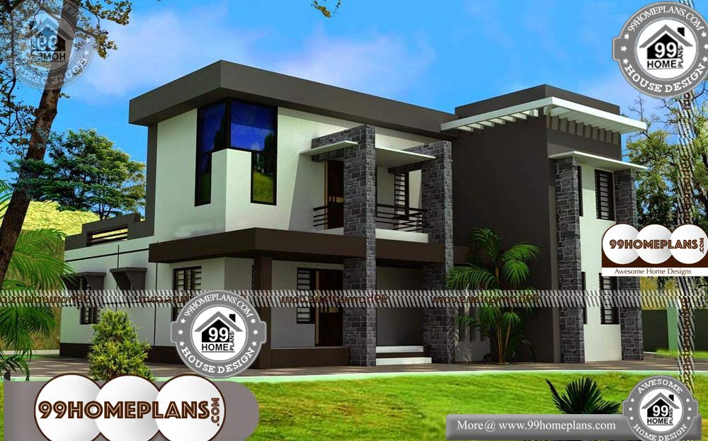 Inexpensive Small House Plans 90 Double Storey Homes Flats 99homeplans Com Inexpensive Small H In 2020 Small House Plans Modern House Plans Small House Design