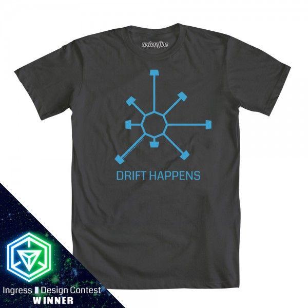 #Ingress Drift Happens t-shirt from welovefine $25.00