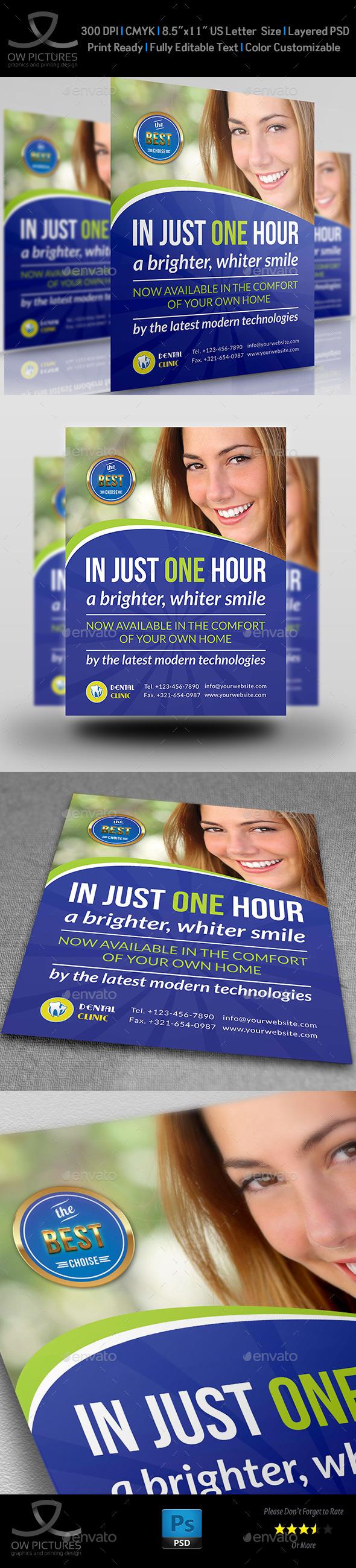 dental clinic flyer vol2 template