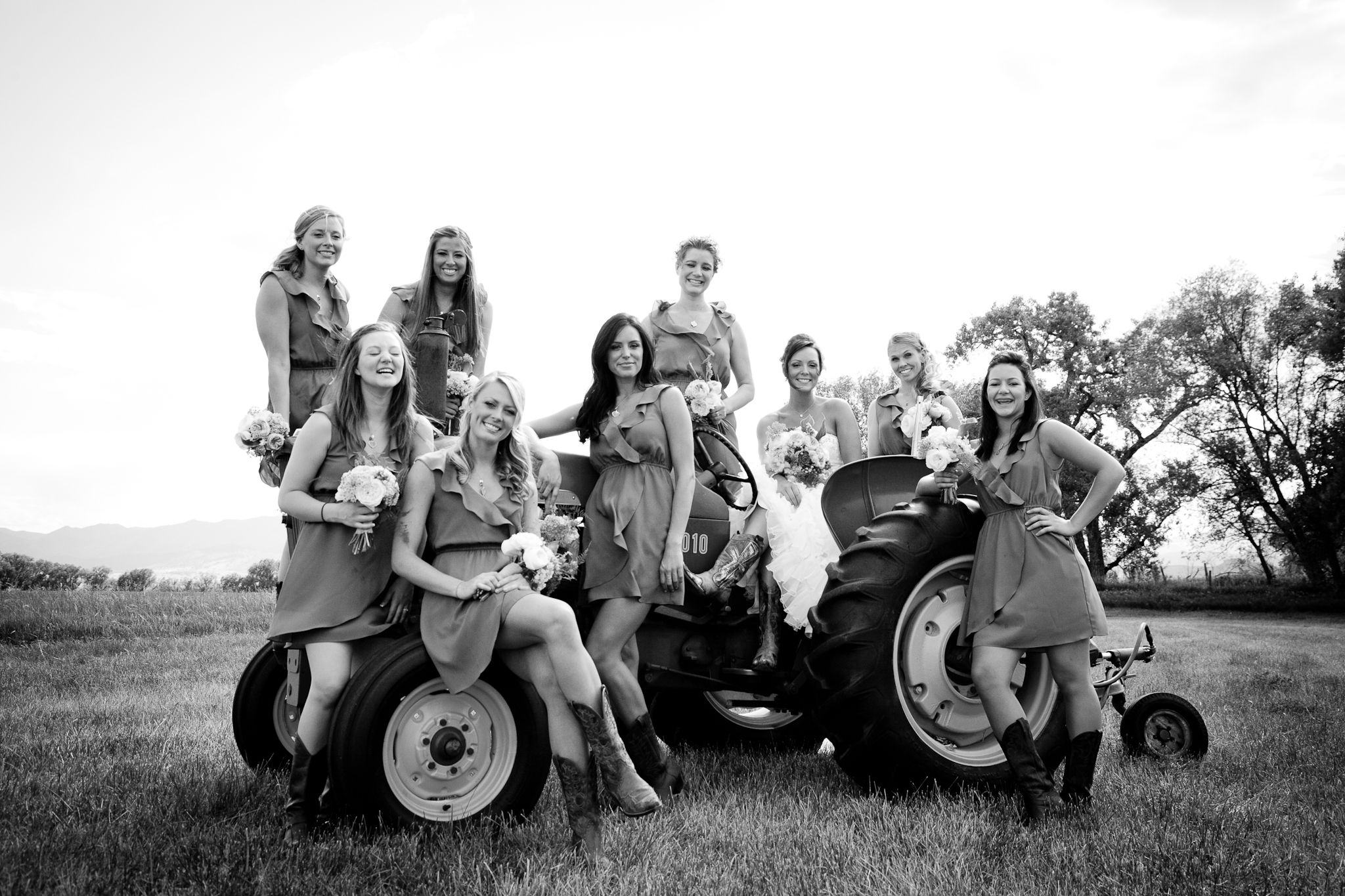 the brides maids pictures :)