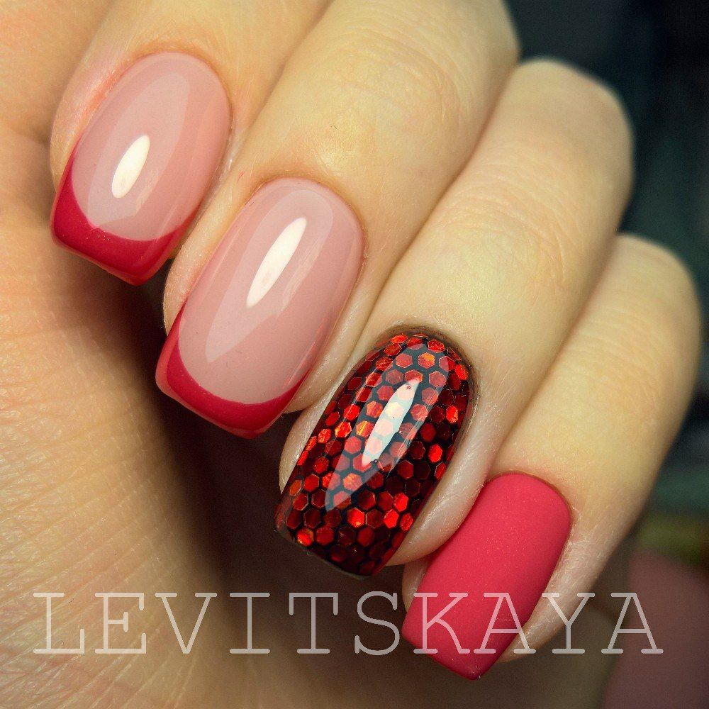 Pin by Ana on uñas   Pinterest   Manicure, Gel acrylic nails and Makeup