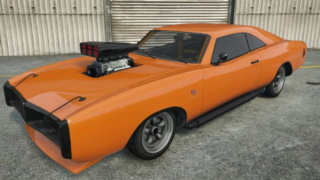 The Imponte Dukes Is A 2 Door Muscle Car Featured In The Enhanced
