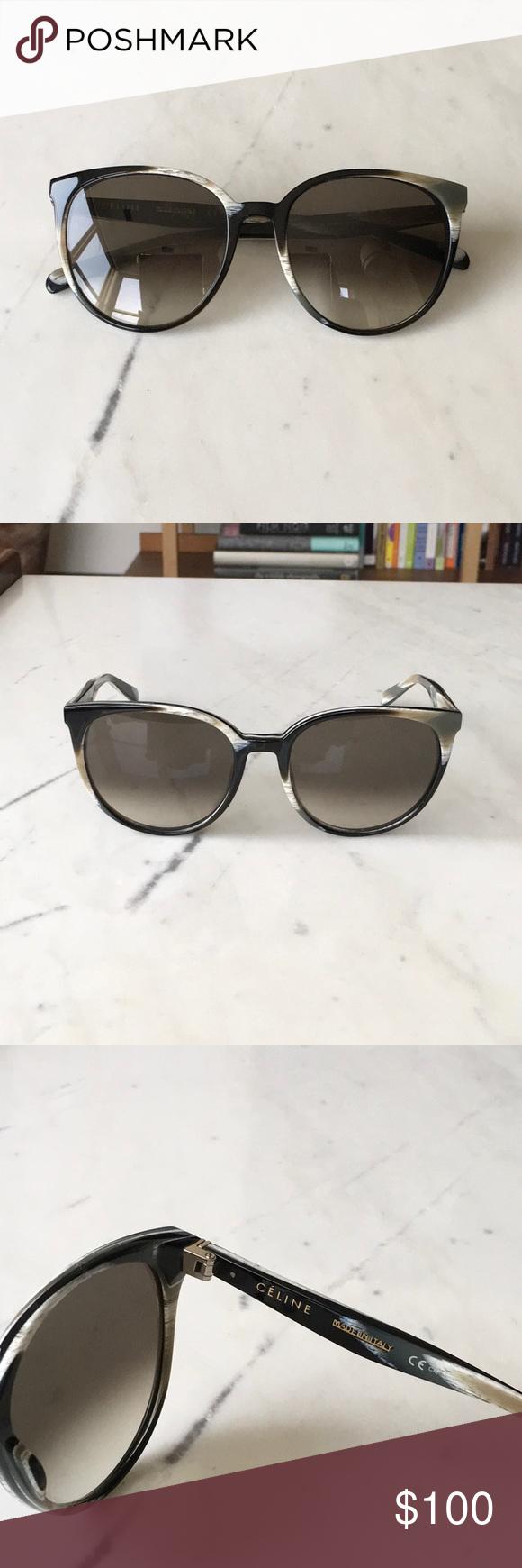 a20888de33724 Celine Thin Mary Sunglasses CL 41068 S Lovely Celine sunglasses with unique  white