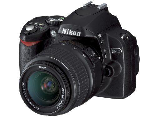 Nikon D40 6 1mp Digital Slr Camera Kit With 18 135mm F 3 5 5 6g Ed If Af S Dx Zoom Nikkor Lens Click On The Image Nikon D40 Digital Slr Camera Digital Camera