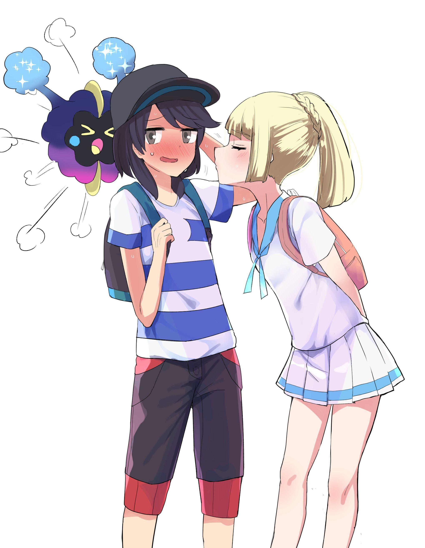 おねだリーリエ Pokémon Sun And Moon Pokemon Sun Pokemon Cute Pokemon