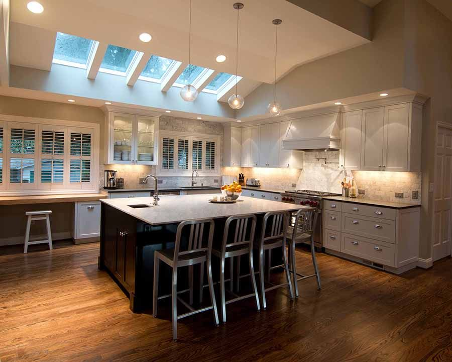 Kitchen Track Lighting Vaulted Ceiling Vaulted Ceiling Kitchen