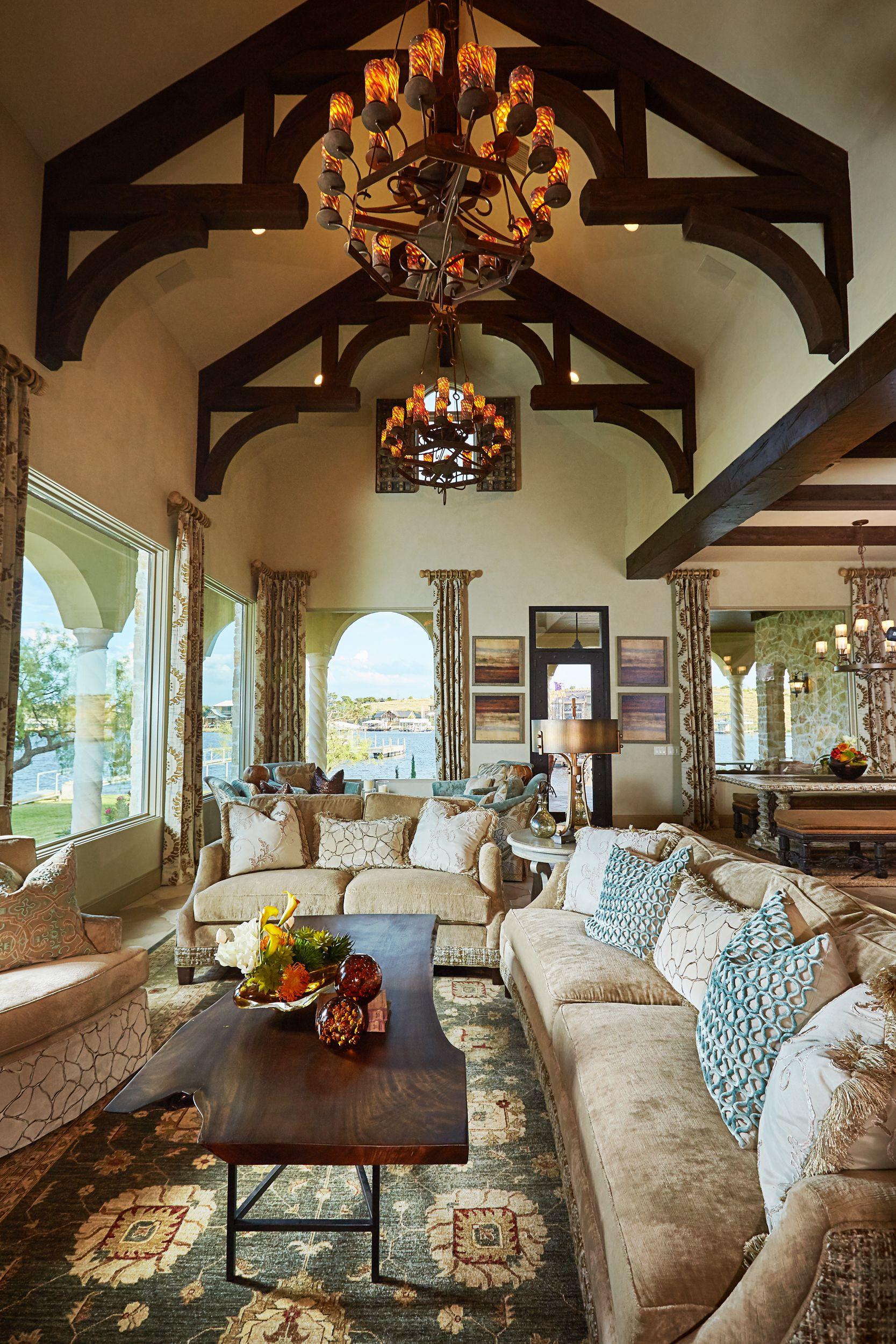 Italian Villa Interior Design by Grandeur Design Grandeur