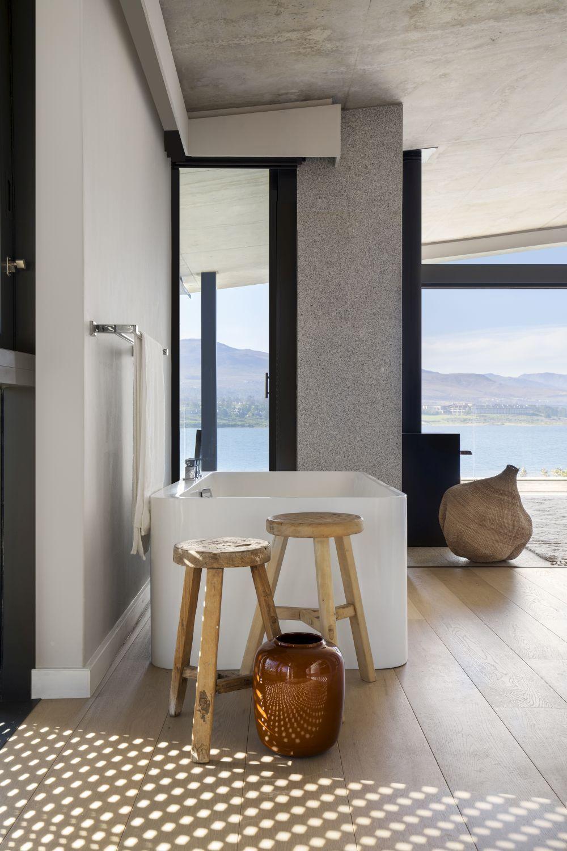 Ensuite badezimmerdesignpläne ein private lagoon retreat mit herrlichen aussichten rundherum  die