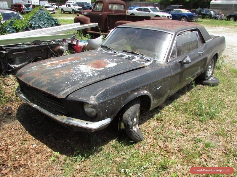 1968 Ford Mustang V8 #ford #mustang #forsale #unitedstates | Cars ...