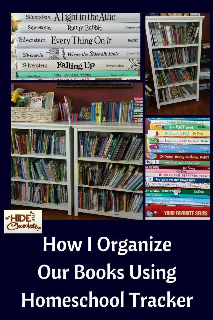 As avid readers and book lovers, we have an insane amount of books in our home. (We don't believe in parting with books in this house much to my husband's dismay.) It didn't take long to realize that I had to come up with a way to organize our books so I