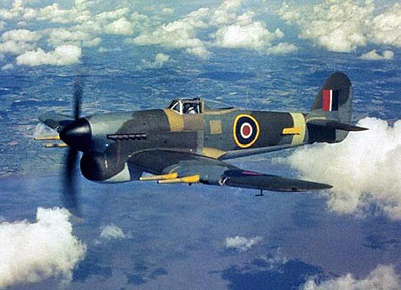 Hawker Typhoon Fighter  Ground Attack Aircraft