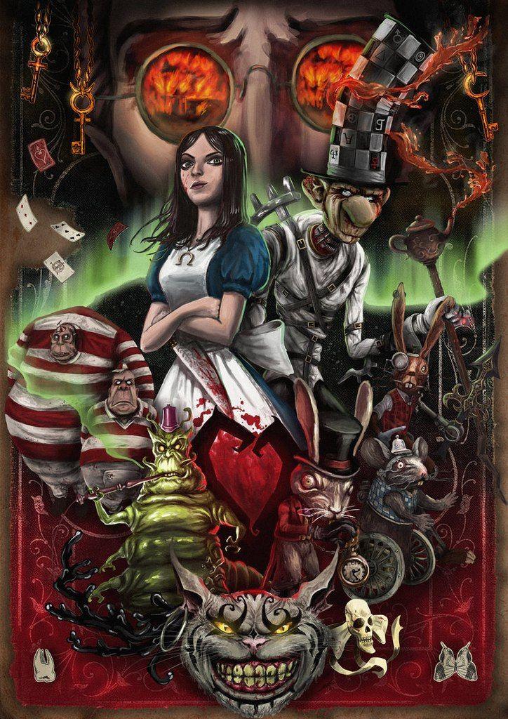 Alice madness returns dark alice in wonderland alice in