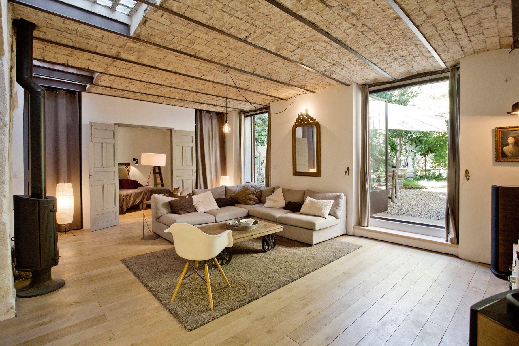 aménagement salon contemporain architecture intérieur sud de la ...