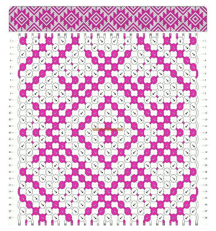 09fa9c2ffdf4 Pin de Jose Lemus en macrame | Pulseras de hilo, Patrones de ...