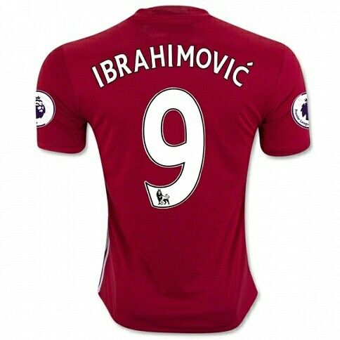 16-17 Manchester United Home Ibrahimovic #9 Jersey Shirt With EPL Badge #16-17 #Ibrahimovic #9 #Manchester #soccer #soccerlovers #soccerfans #redjerseys #red #soccerjerseys #epl #Badge #jerseys #menfashion #sportclothes #tag #pic #instagrammers #tbt #love #outdoors #cool #