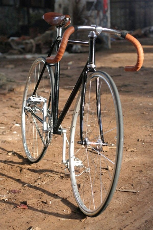 My dad is going to start building me a vintage fixie bike! Too excited!
