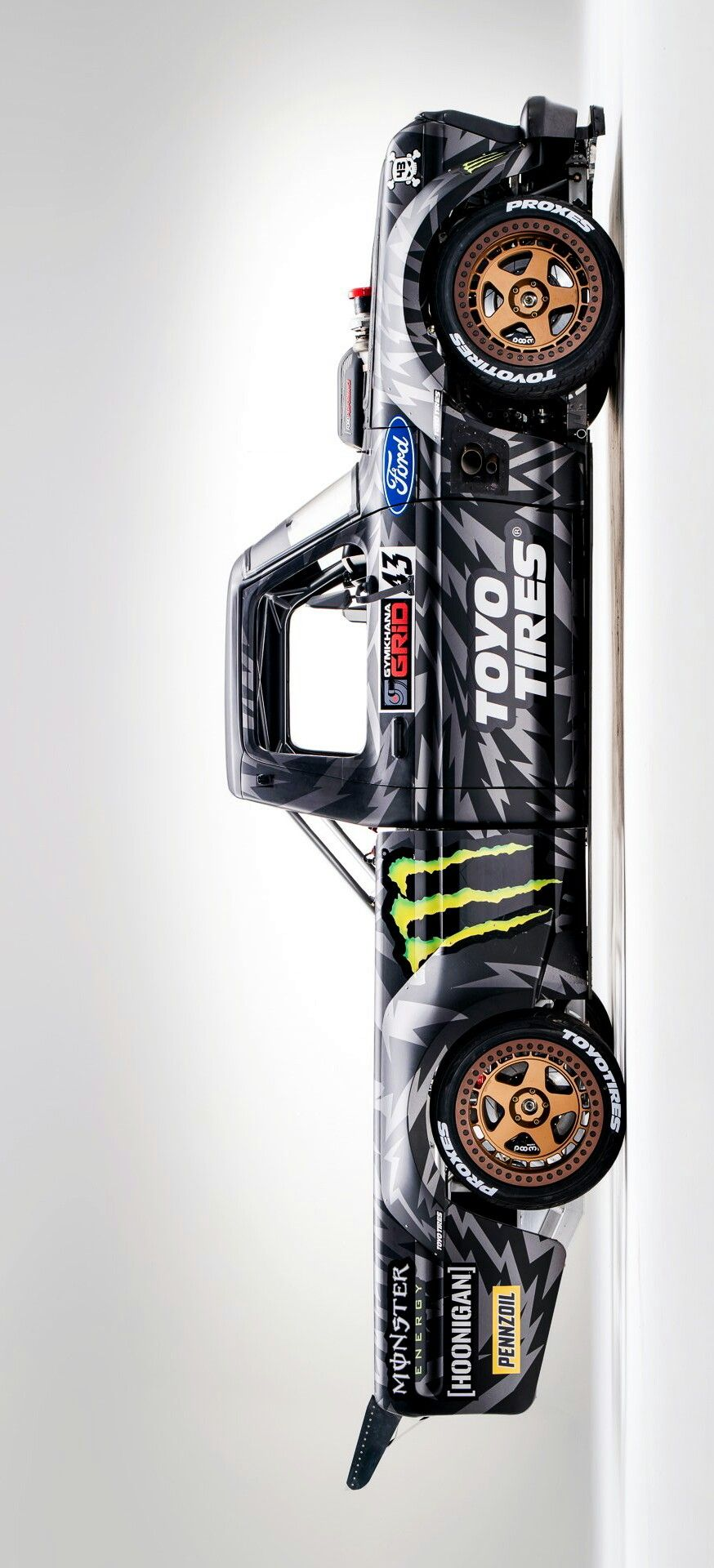 Ken Block S Hoonitruck Cars And Not Cars Ken Block Cars Cars
