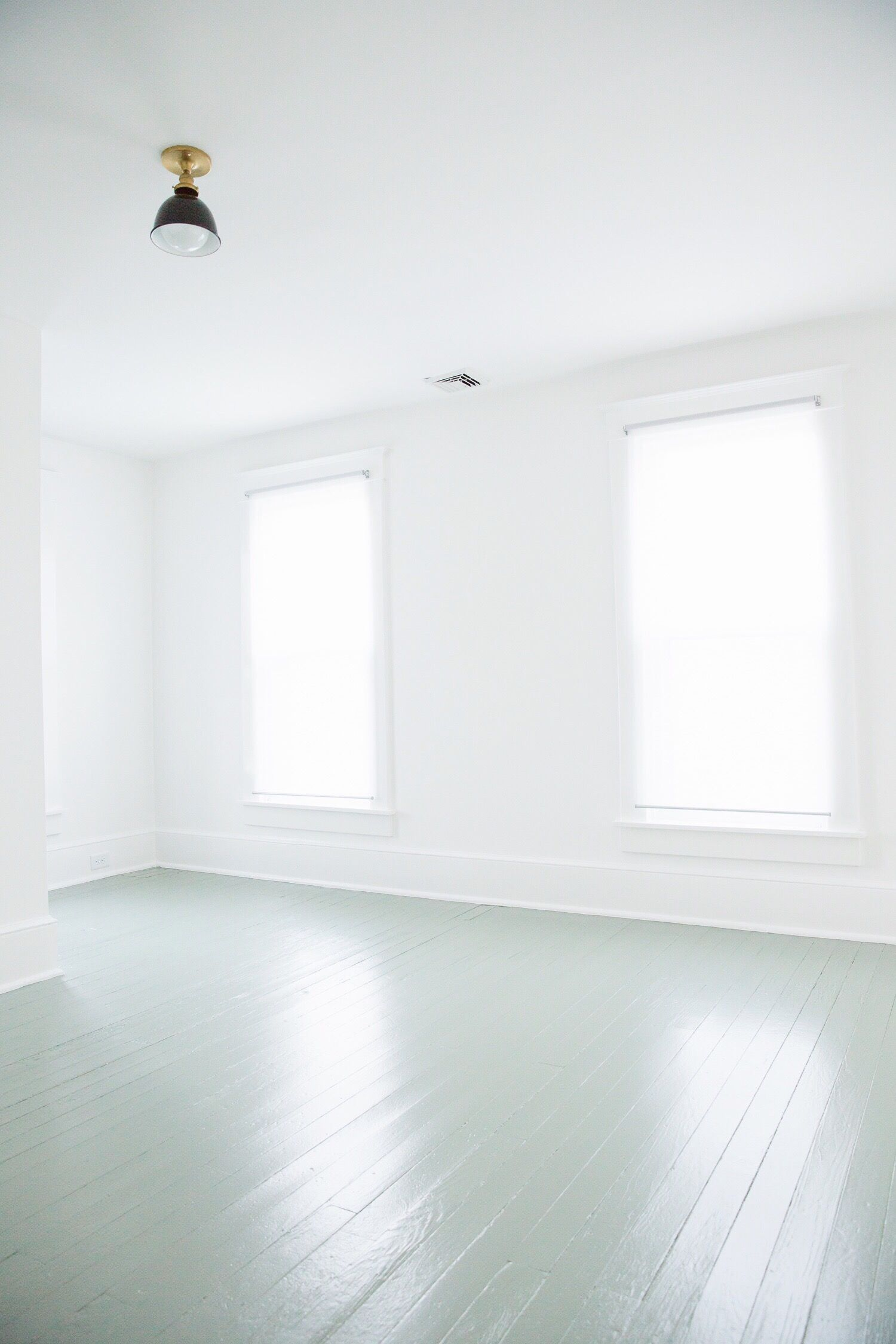 Since Painting Our Upstairs Floors 3 Years Ago We Ve Received A Lot Of Questions Along The Wa White Painted Floors Painted Wood Floors Painted Hardwood Floors