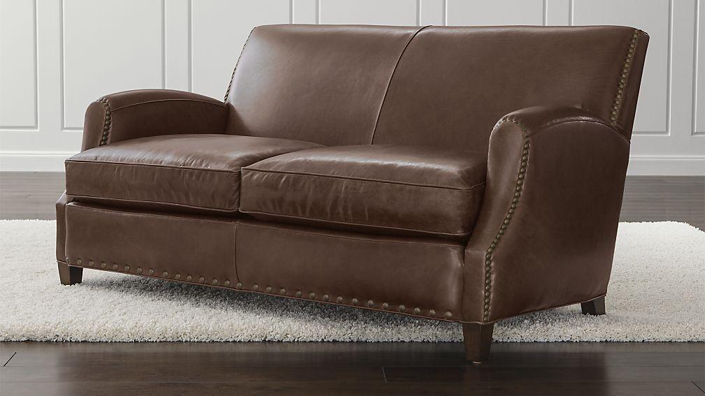 Phenomenal Metropole Leather Loveseat Den Leather Loveseat Brown Machost Co Dining Chair Design Ideas Machostcouk