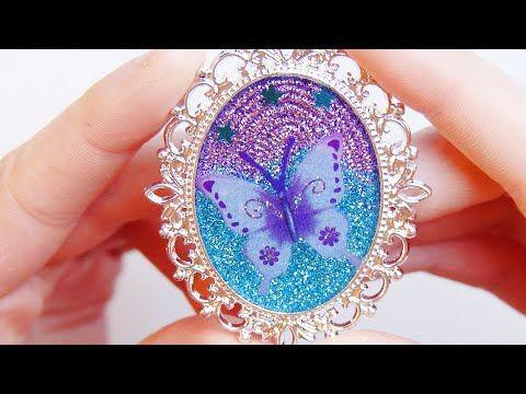 Tutorial de resina: Corazon de arcoiris - Resin tutorial: Rainbow heart charm - YouTube
