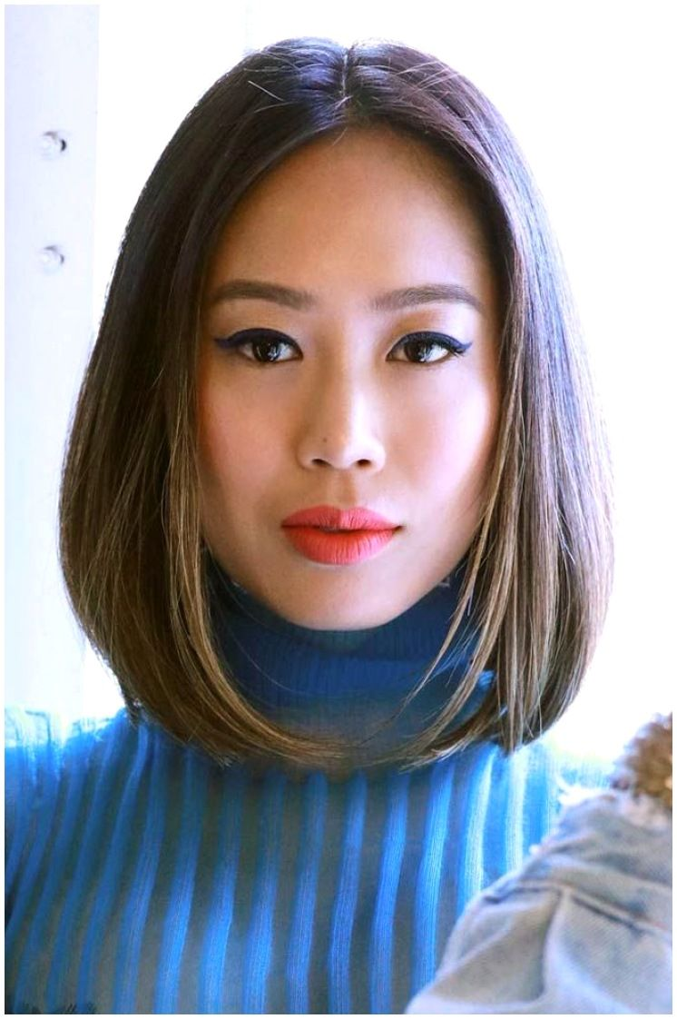 Asian Long Bob : asian, Medium, Length, Hairstyles, Iconic, Contemporary, Styles,, Asian