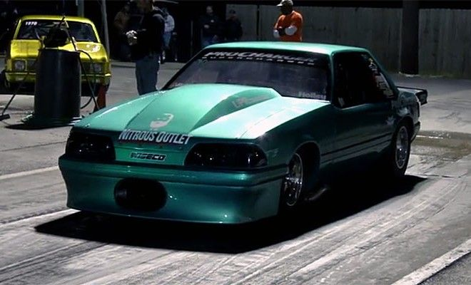 Ford Mustang Fox Body Procharger 'Little Evil': 4 10 Seconds