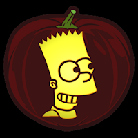 the simpsons bart co stoneykins pumpkin carving patterns and rh pinterest com