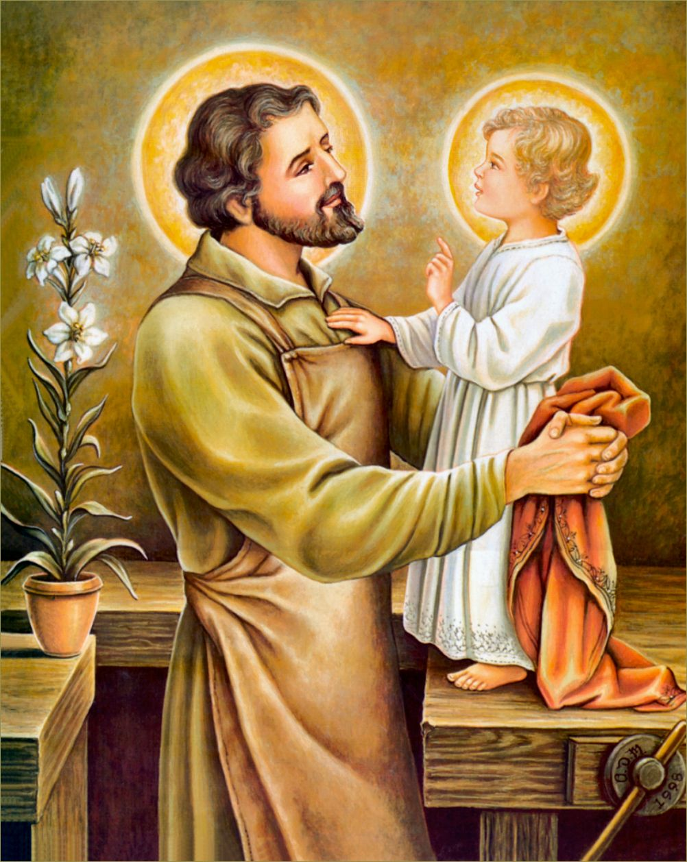 A Mystic's Glimpse into the Early Life of St. Joseph   Blessed ...