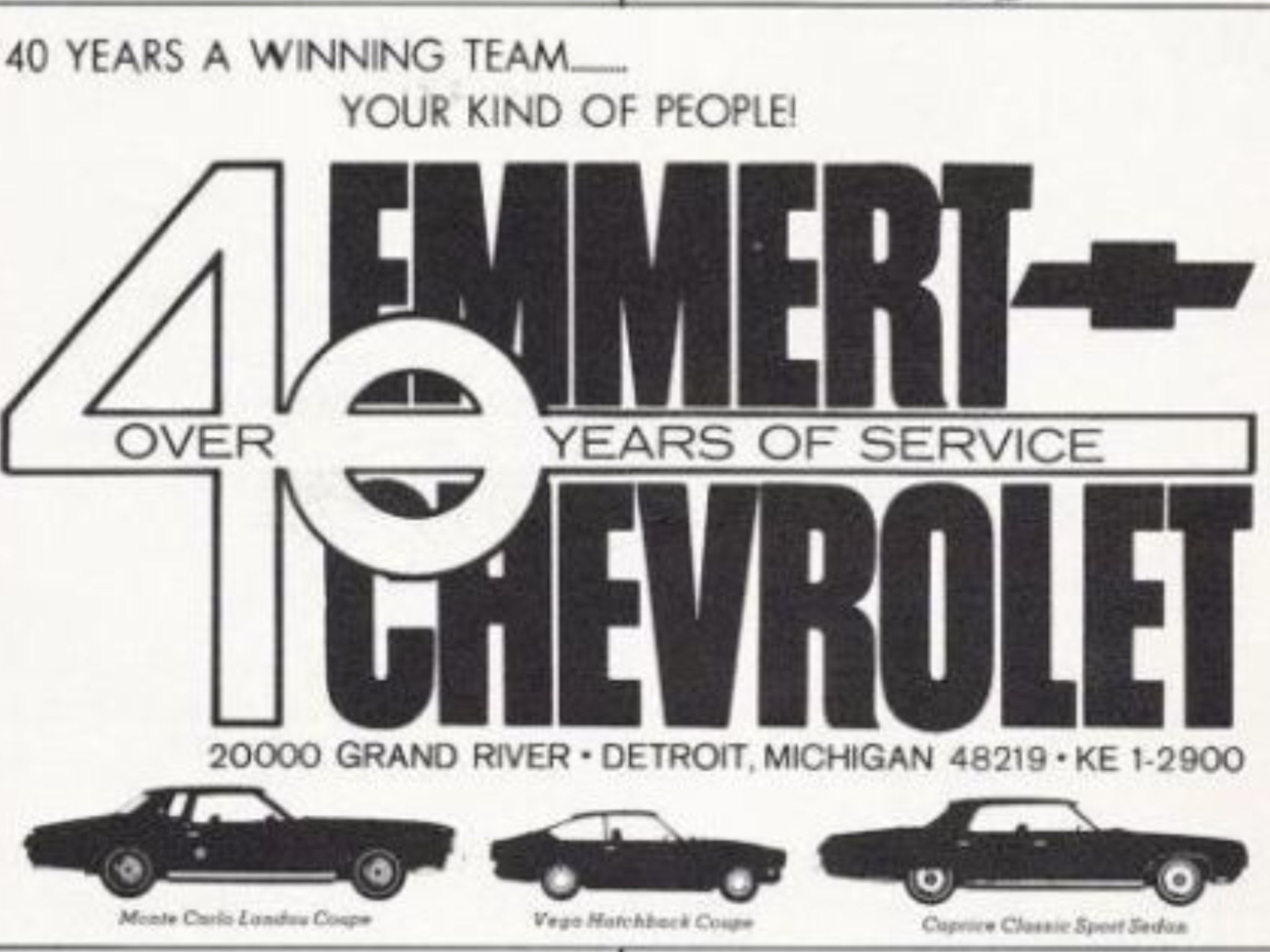 Emmert Chevrolet Dealership, Detroit, Michigan | Chevrolet ...