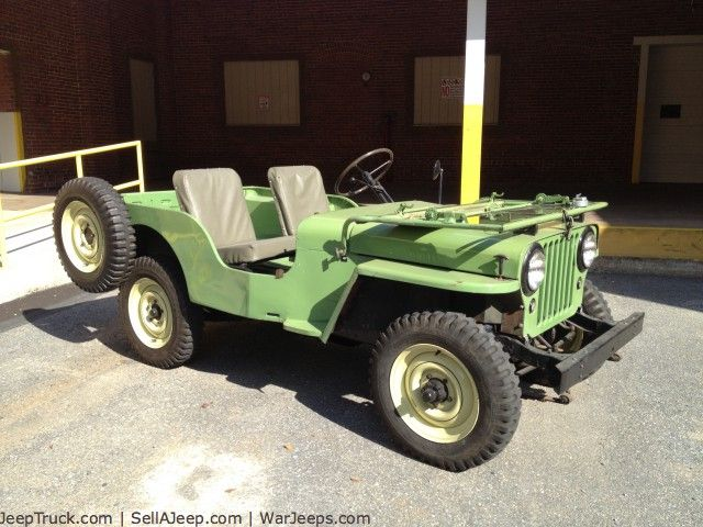 1946 Cj2a Jeeps Used Jeeps And Jeep Parts For Sale 1946 Willys