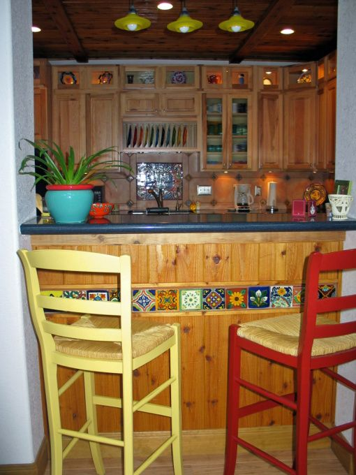 ordinary Southwestern Kitchen Decor #9: santa fe style kitchen cabinets | Santa Fe Kitchen - Kitchen Designs -  Decorating Ideas -
