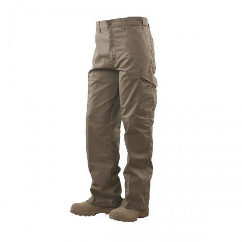 Black cotton bootcut trousers