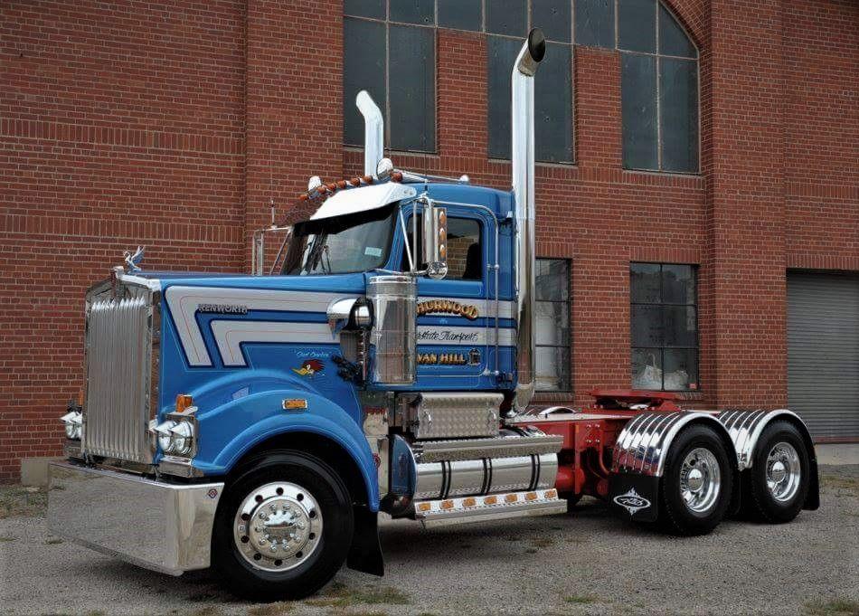 Kenworth T909 Day Cab Prime Mover Kenworth Big Trucks Kenworth Trucks
