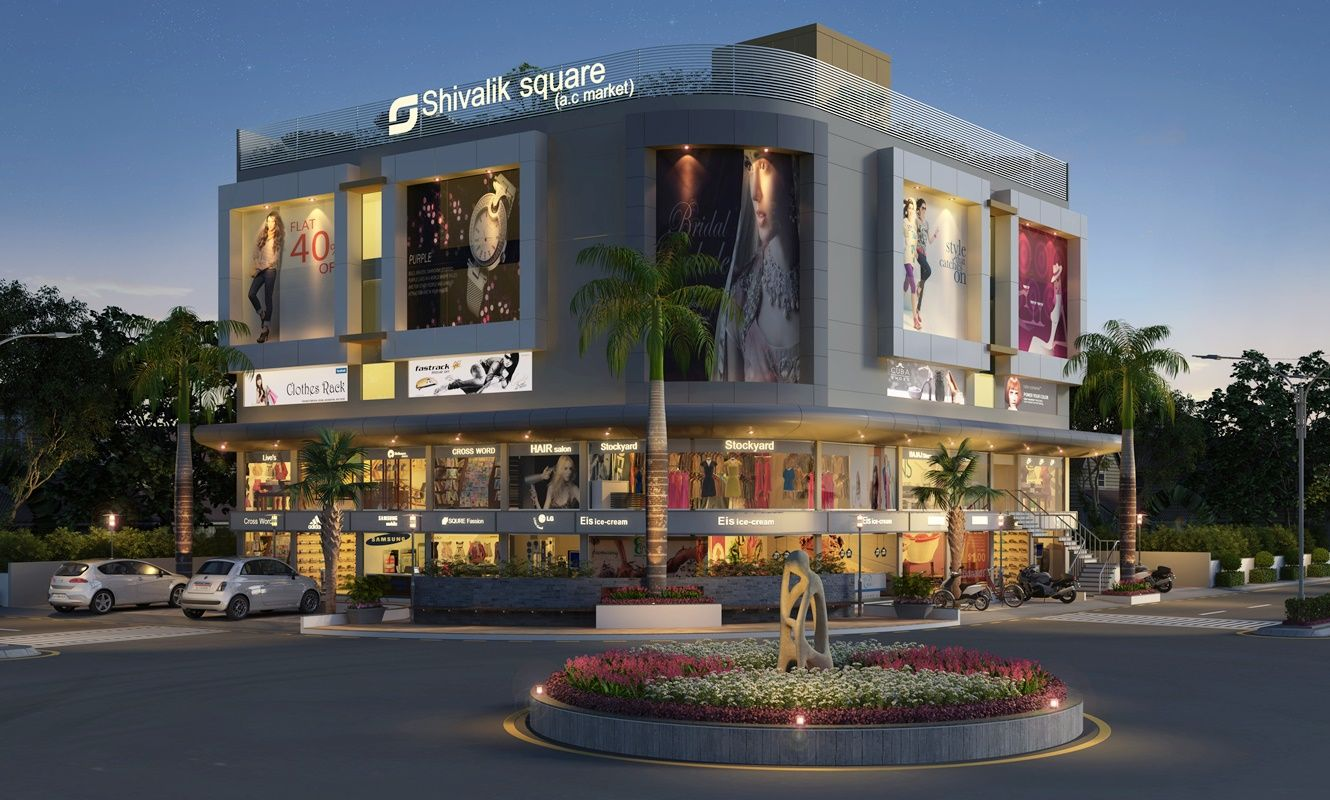 Exterior cgi design rendering for architectural for Commercial exterior design ideas