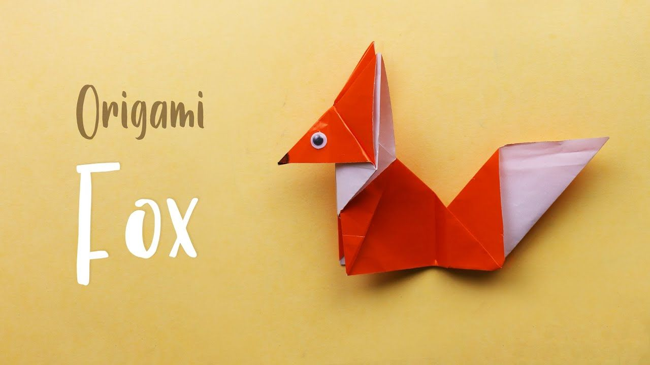 Photo of How to make Origami Fox Step by Step Guide