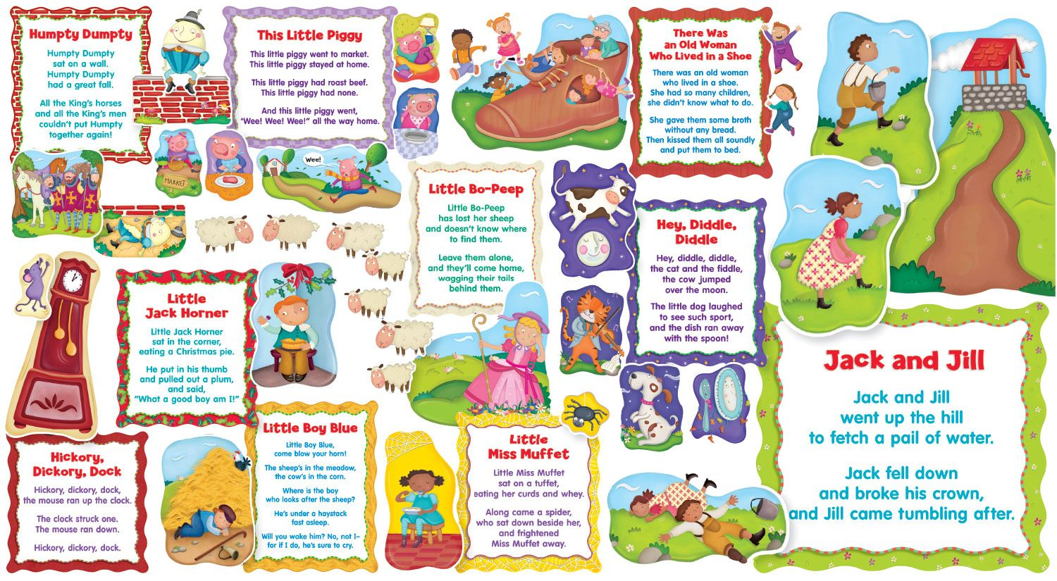 Favorite Nursery Rhymes Bulletin Board