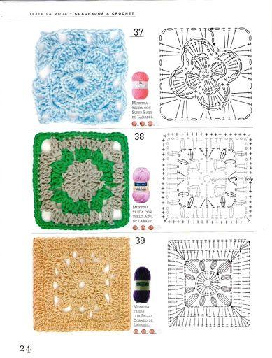 El manual que toda tejedora artesana debe tener siempre a su alcance , 88 moldes hermosos puntos ,muestras y motivos a todo color tejidos pa...