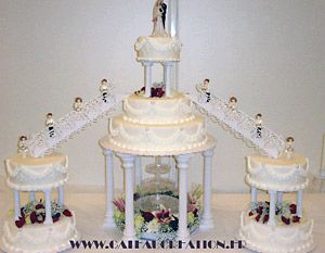 Modele de gateau mariage