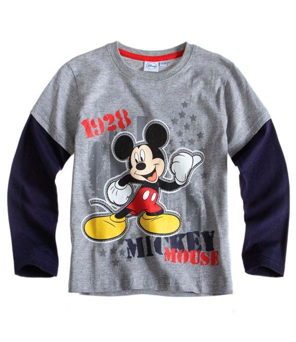Disney Shirt Garçon T-shirts à manches courtes