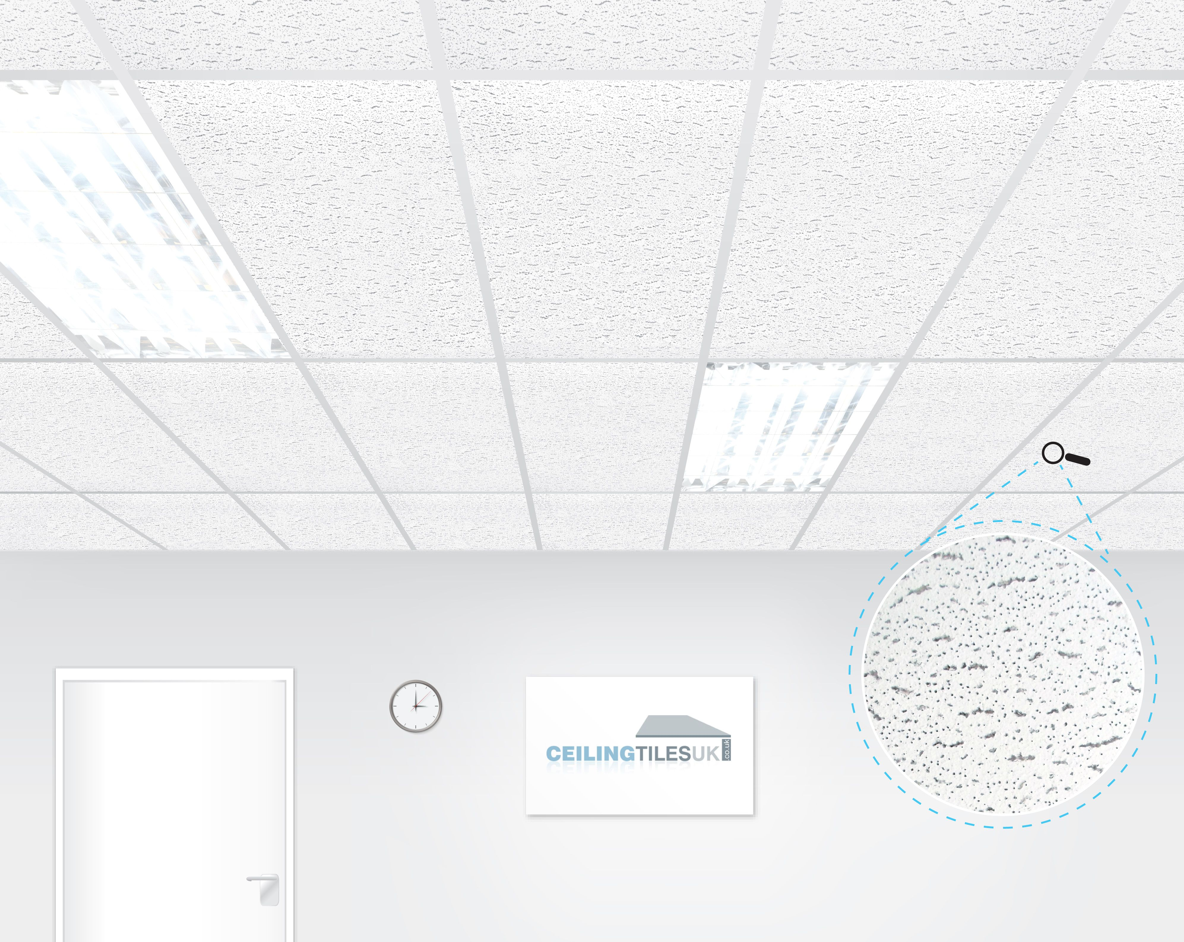 Armstrong Tatra 1200x600mm Square Edge Suspended Ceiling Ceiling