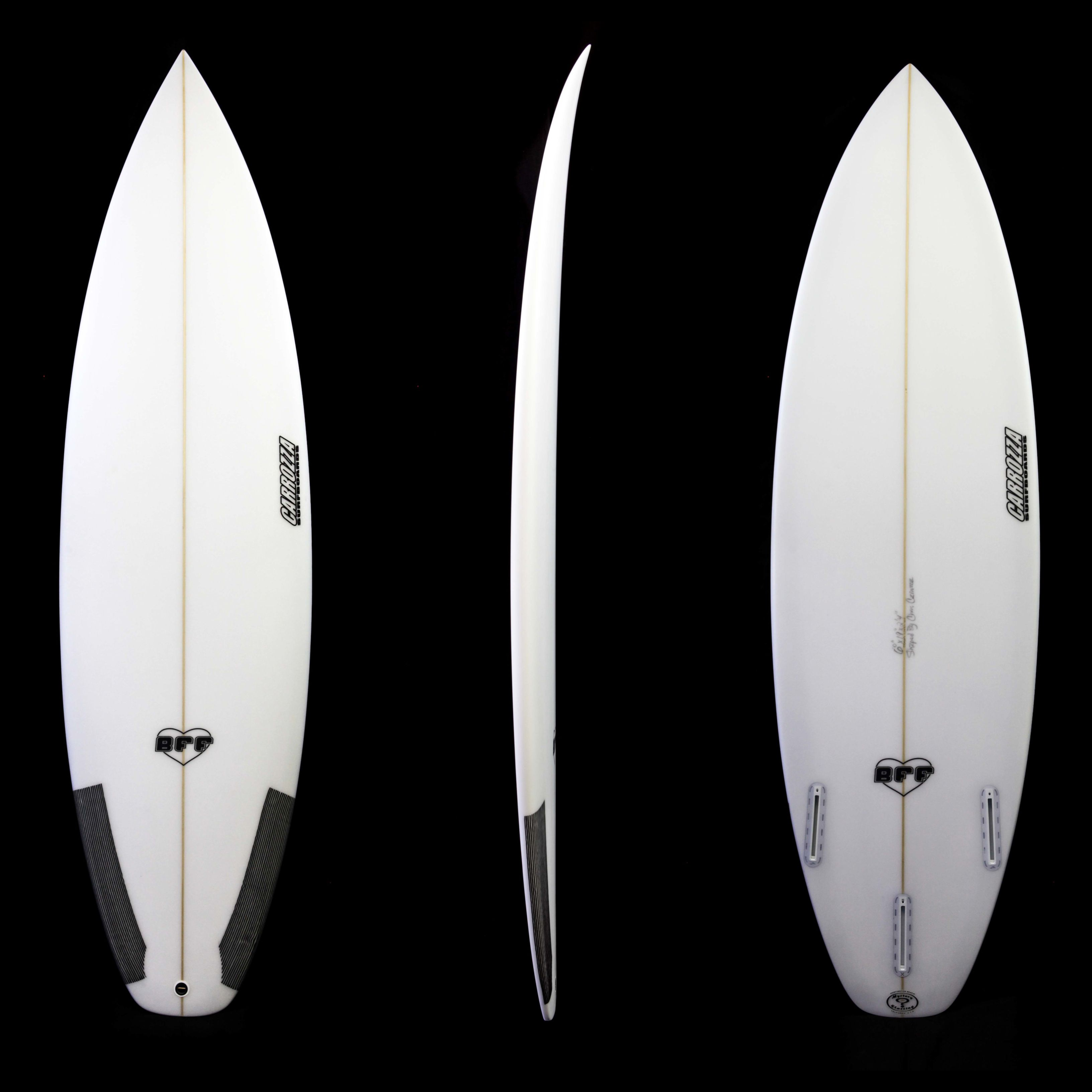 "The Carrozza BFF Model Surfboard Is A Great ""daily Driver"