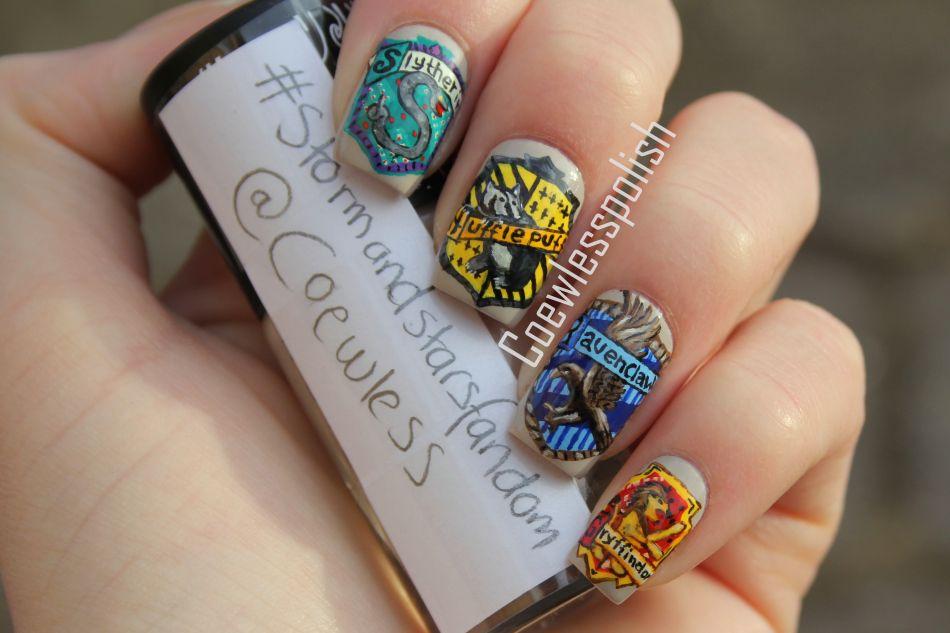 Harry Potter Nails