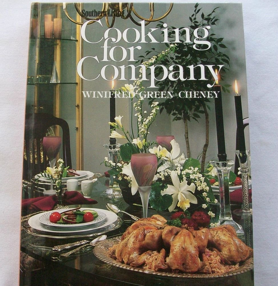 Southern Living Cooking for Company 1985 HC (2315-107) vintage cookbooks, basics $3.00