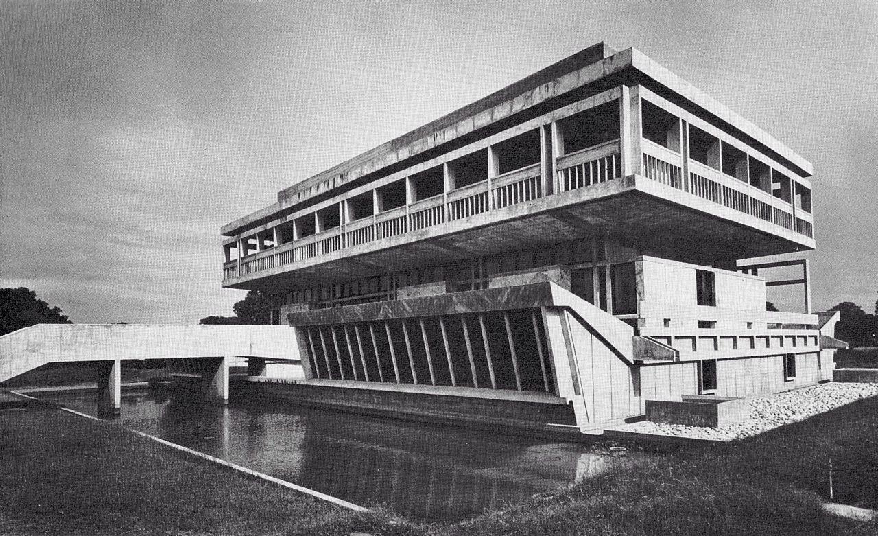Architecture of Doom : Photo  institute of indology, ahmedabad, india