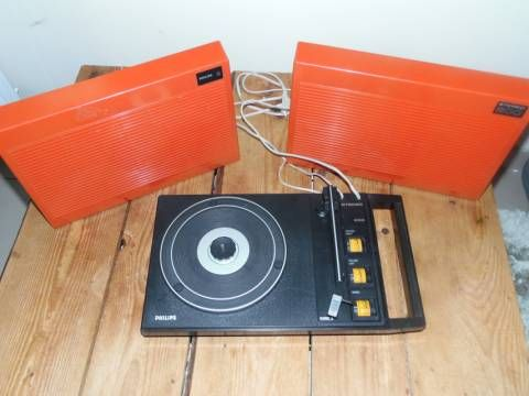 tourne disque philips stereo 200