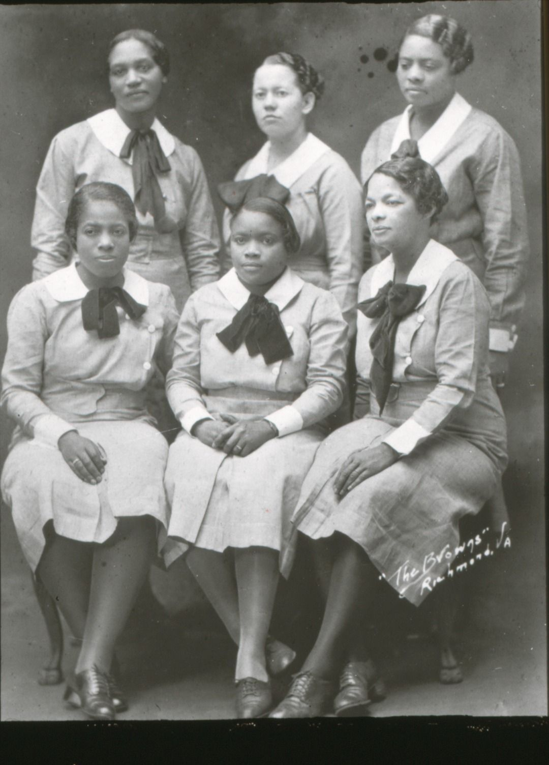 Group of early public health nurses employed in 1929