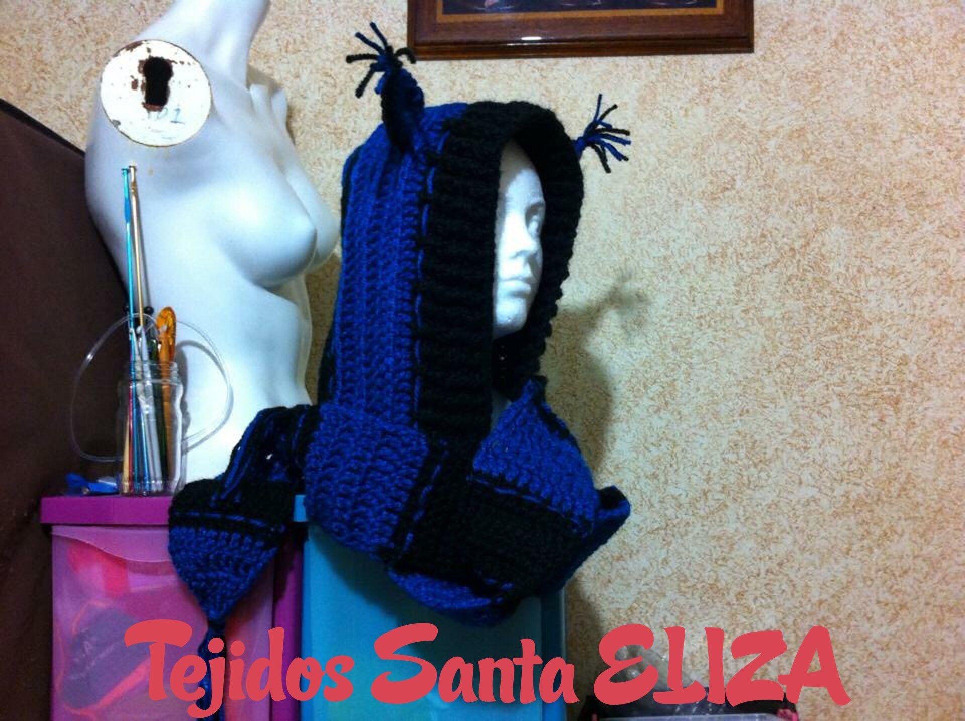 Gorra con bufanda, en una sola pieza 🕷🕸 de mis primeros trabajos #talentomexicano🇲🇽 #inspiración #ganchillocreativo #artesanamexicana #hechoamano #amotejer💖 #tejoluegoexisto