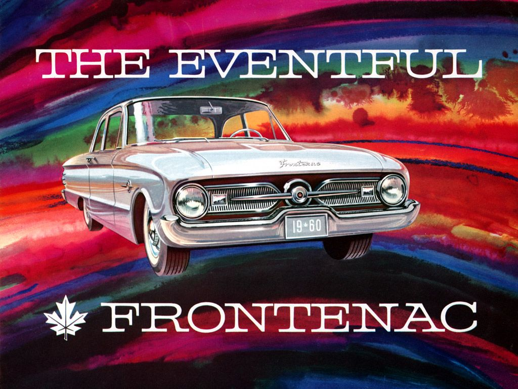 1960 Ford Frontenac In 1960, Ford Canada introduced the