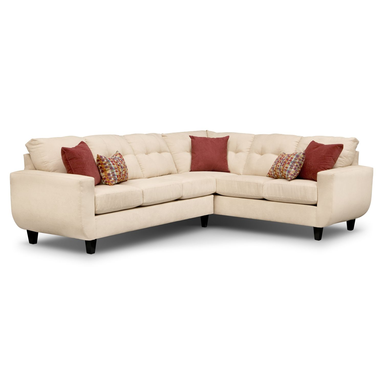 Santa Monica II Upholstery 3 Pc Sectional by Kroehler This is