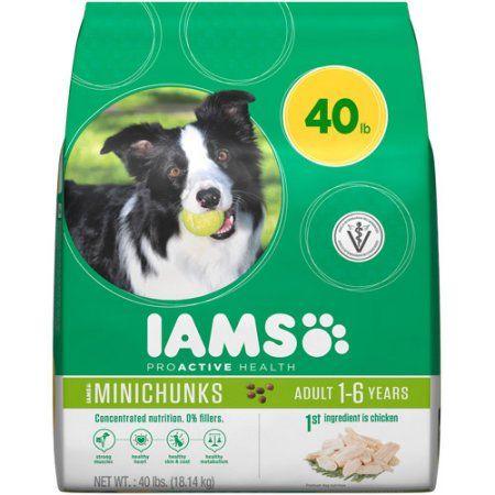 Iams Proactive Health Adult Minichunks Premium Dog Food 40 Lbs